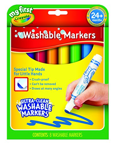 Crayola My First Washable Markers 8ct