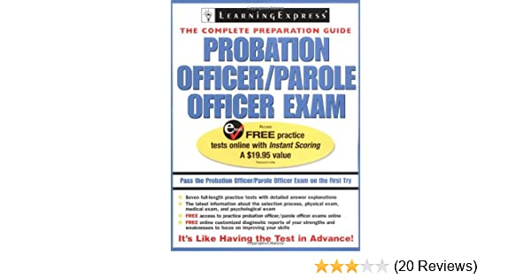 probation parole officer exam probation officer parole officer exam rh amazon com Orange County Probation Officer Salary Orange County Probation Officer Salary