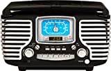 Crosley Radio CR612-BK Corsair Alarm Clock/Radio (Black)