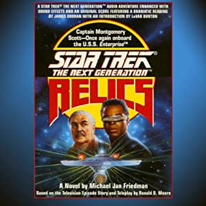 Star Trek, The Next Generation: Relics (Adapted) Audiobook
