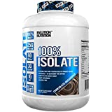 Evlution Nutrition 100% Isolate | Hydrolyzed Whey Isolate Protein Powder | 25 G of Fast Absorbing Protein | No Sugar Added, Low-Carb, Gluten-Free | Chocolate | 4 Pounds