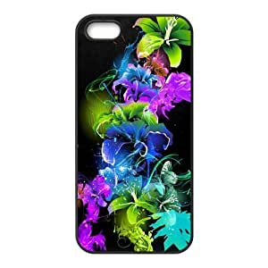 Custom Abstract Art Back Cover Case for iphone5,5S JN5S-491
