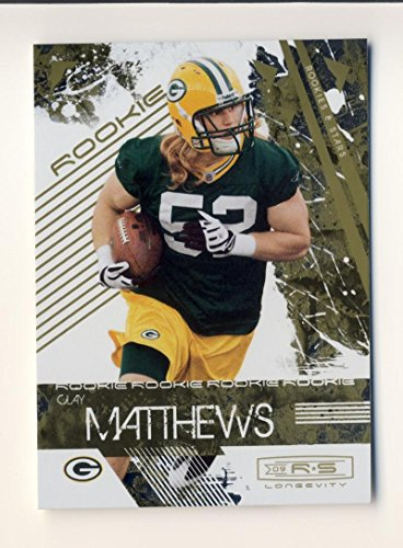 Clay Matthews RC Rookie 880/999 Packers 2009 Rookies and Stars - Us Canada Contact Paypal