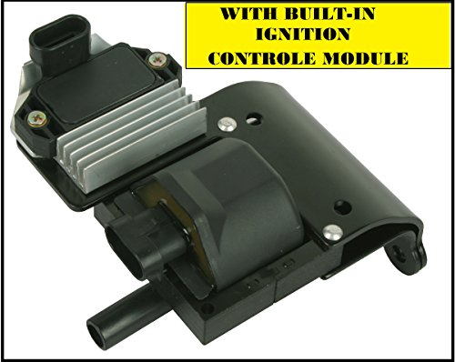 Griffin DR49 NEW Ignition Coil with Built-in Controle Module 10489421, 8104894210, (Control Coil)