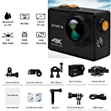 Ocamo Pro Action Camera 4K WiFi Camcorder Waterproof DV Sports Camera Underwater Camera