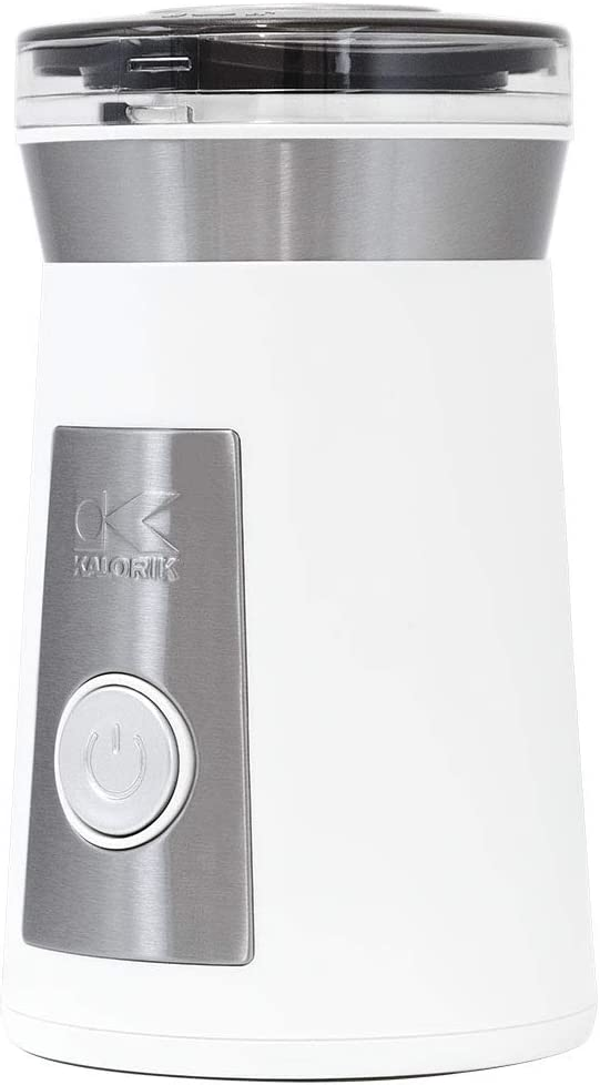 Kalorik, CG 44047 W, Coffee and Herb Grinder, Stainless Steel & White