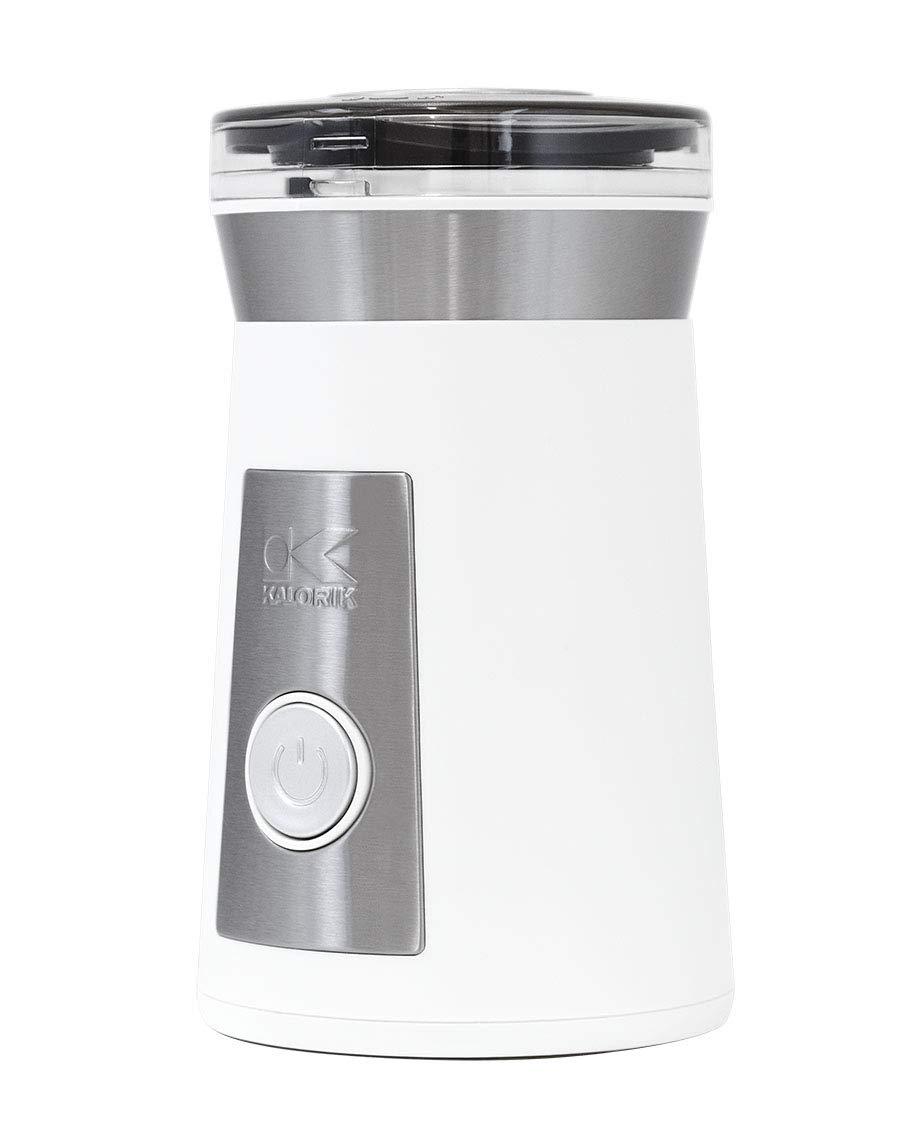 Kalorik, CG 44047 W, Coffee and Herb Grinder, Stainless Steel & White