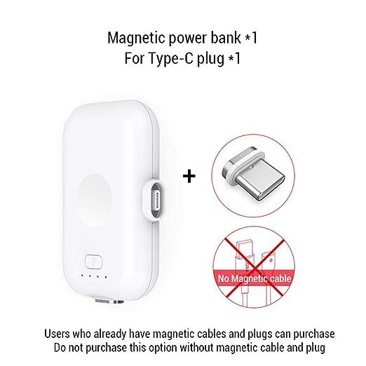 Power Bank Micro USB Tipo C 1200Mah Mini Cargador De Imanes ...