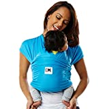 Baby K'tan ACTIVE Sport Mesh Wrap Baby Carrier, Ocean Blue, X-Small