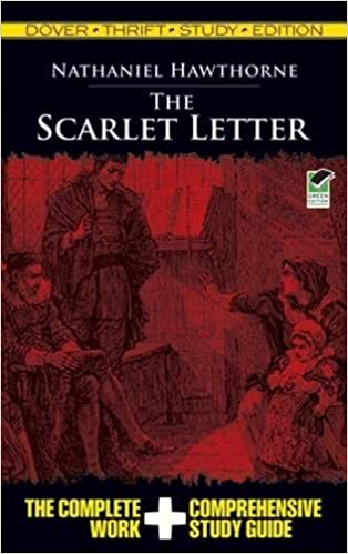 the scarlet letter dover thrift study edition nathaniel hawthorne 0800759475698 amazoncom books