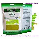 Certified Organic 1LB /456g (3 packs of 152g) Gourmet Moringa Leaves Powder
