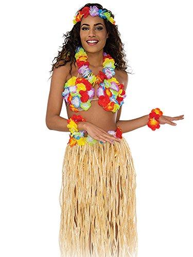 (Rubie's Women's Hula Costume Kit, Multi, One Size)