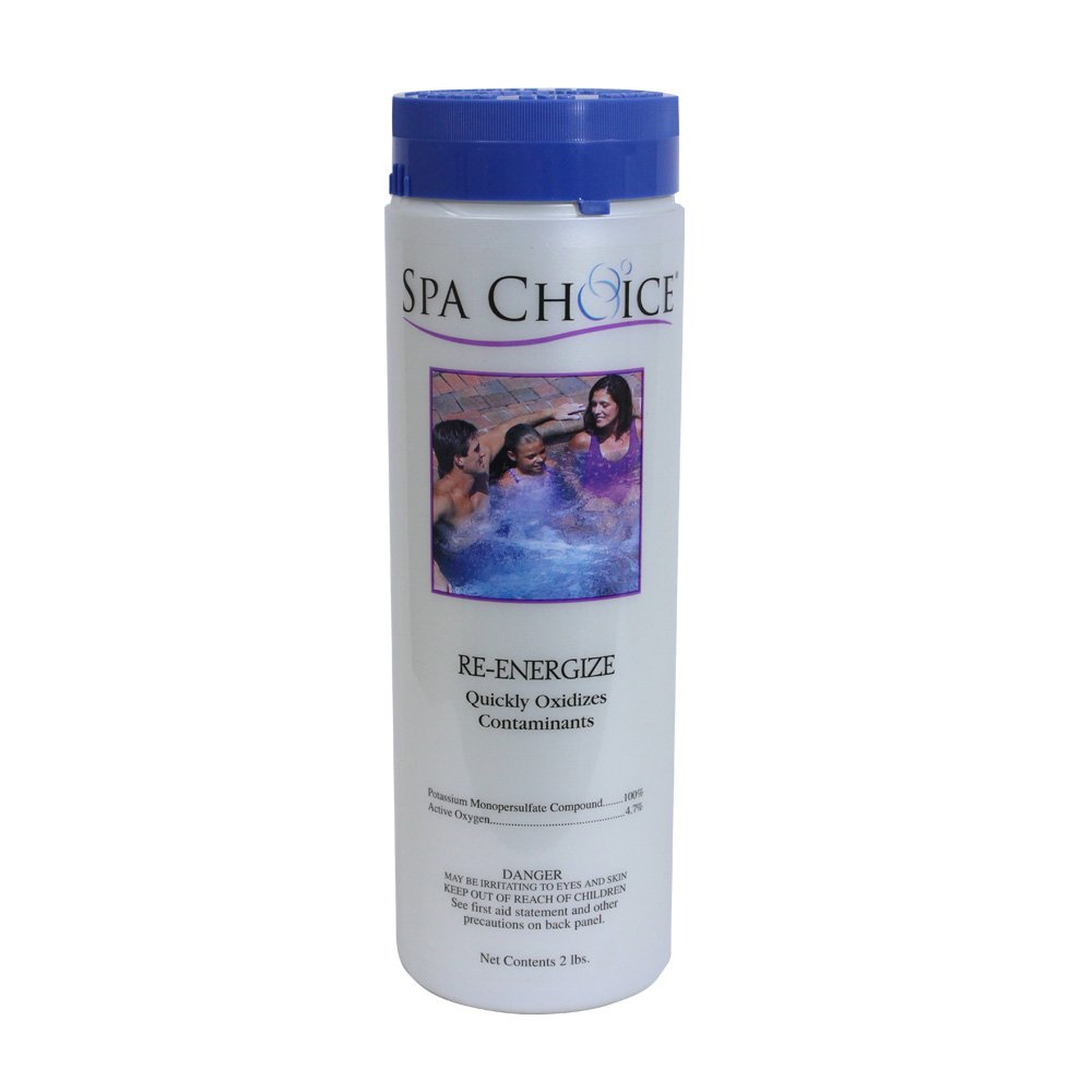 Spa Choice 472-3-3041 Re-Energize Oxidizing Spa Shock Chemical, 2-Pound