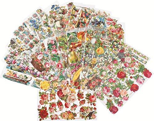 efco Poesie-Bilder-Set Blumen 25-teilig