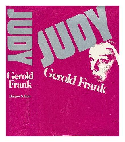 Judy by Gerold Frank
