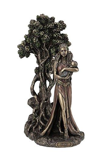 (Unicorn Danu Mother of The Tuatha De Danann Statue Figurine Cold Cast)