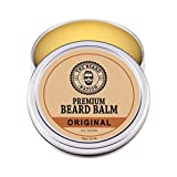 Facial Hair Styles Mutton Chops - Ultimate Men's Beard Balm By The Beard Nation: Natural Leave-In Beard Conditioner w/ Essential Oils/Best Beard Grooming Product To Nourish & Soften Beard/ Perfect Hold, Potent Scent, Top Gift/ 1.75oz