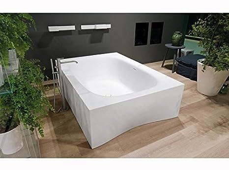 Vasca Da Bagno Rettangolare : Vasca da bagno doccia da incasso rettangolare in acrilico