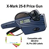 X-Mark Price Guns (10): TXM 25-8 Bulk PRICING [1 Line / 8 Characters]