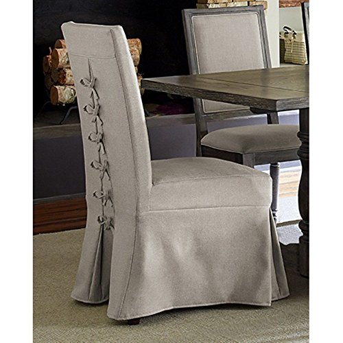 Progressive Furniture Muses Upholstered Parsons Chair with Cover (Covered Dining Room Chairs)