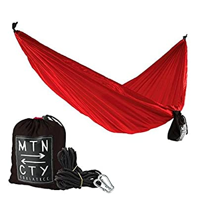 Coalatree Loafer Packable Hammock - Easy set-up, portable, great travel, adventure, camping, festivals