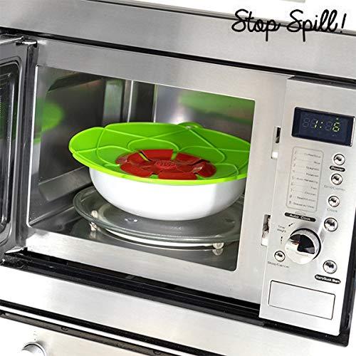 A Couvercle Anti-d/ébordement en Silicone Original et Ludique /ét/é con/çu pour emp/êcher Vos casseroles de d/éborder ou d/éclabousser Votre Plaque de Cuisson ou Votre cr/édence.