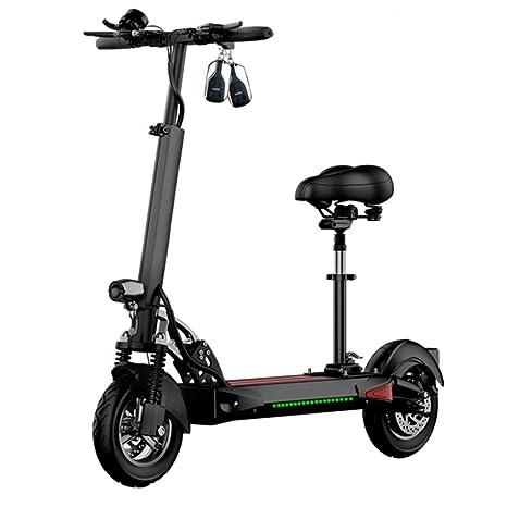 HOPELJ Scooter Eléctrico, con Función De Carga USB, Motor ...