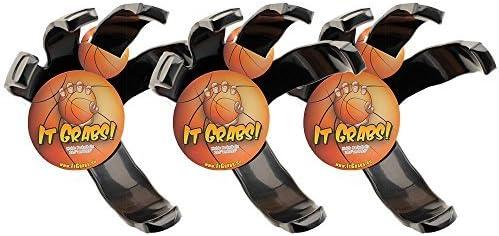 It Grabs, soporte para balones de baloncesto - hand claw - Negro ...