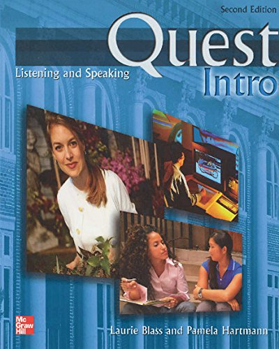 Quest Listening and Speaking Intro Student Book with Audio Highlights, 2nd Edition