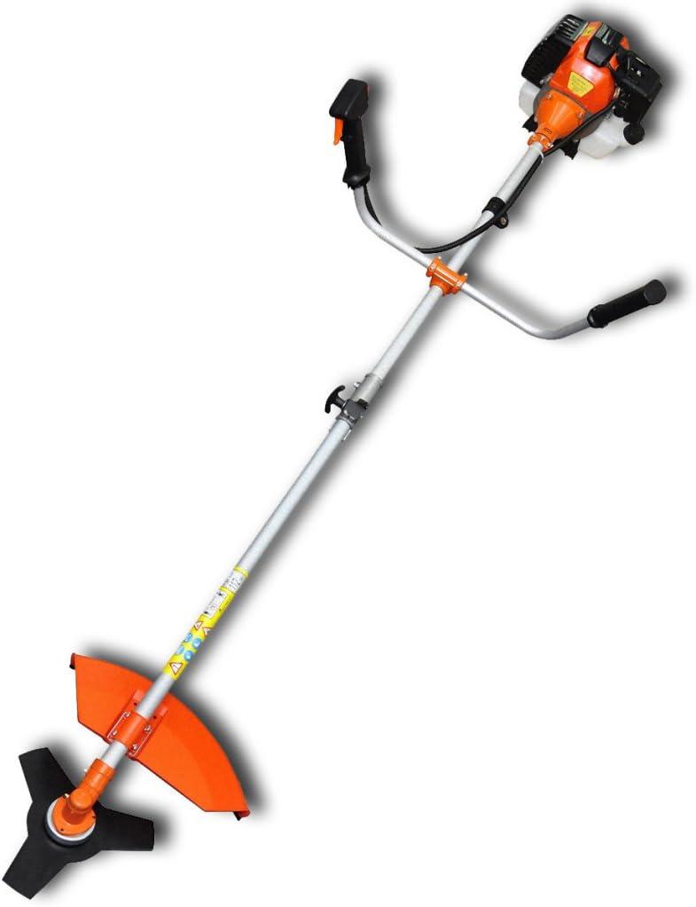VidaXL 141003 2200W Gasolina Naranja cortabordes y desbrozadora - Cortacésped (Naranja, 1,2 L, Gasolina, 2200 W, 8 kg): Amazon.es: Hogar