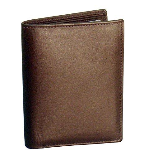 Winn International Cowhide Napa Leather Bi-Fold Wallet in -