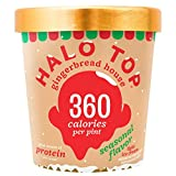 Halo Top, Gingerbread House Ice Cream, Pint