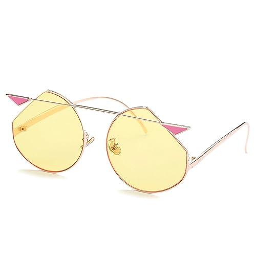 STRAWBERRYER Sra Gafas De Sol Verano Gafas De Protección UV Al Aire Libre Decorativa,F-OneSize