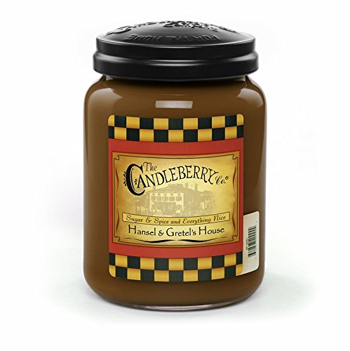 Hansel & Gretel's House 26 oz. Large Jar Candleberry Candle