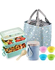 Lunch Bento Box Big Lunch Containers, Iteryn Leak Proof Bento Box …