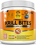 itch omega paw - Omega 3 Krill Oil Chewables for Dogs - Hip & Joint + Skin & Coat Health Supplement - With Qrill Pet Meal & DHAgold - Brain, Heart & Immune Support - With Sustainable Antarctic Krill - 90 Soft Chews