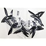 10 pair HQ Prop DP 6x3x3 V1S Tri-Blade 3 Blade Propellers Props for FPV Racing (BLACK)
