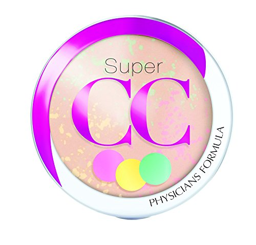 Physicians Formula Super CC Color-Correction + Care CC+ Powder Light/Medium 0.3 Ounce, SPF 30 ()