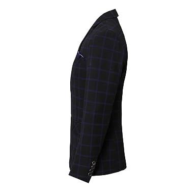 Allthemen Costume Homme Costard 3 Pcs Veste Gilet Pantalon Business  Cérémonie Mariage  Amazon.fr  Vêtements et accessoires e946b3178c9
