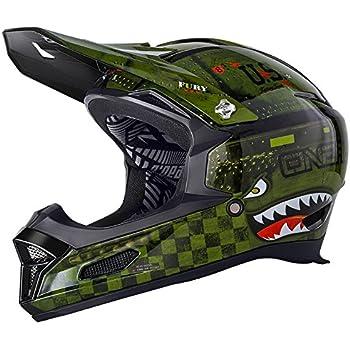 ONeal Fury RL II Warhawk BMX Mountain Bike Helmet (Green; Medium)
