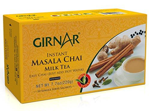 Girnar Instant Chai (Tea) Premix With Masala, 10 Sachet Pack