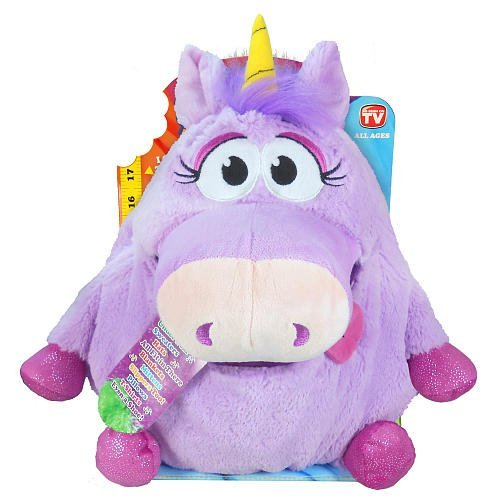 Tummy Stuffers Lilac Unicorn Plush Toy