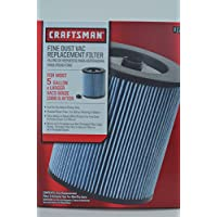 Craftsman Shop Vacuum Dry and Wet Filters Bundle