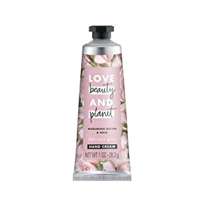 Love Beauty and Planet Murumuru Butter & Rose Delicious Glow Hand Cream Body Lotion - Rose - 1oz - Pack of 2