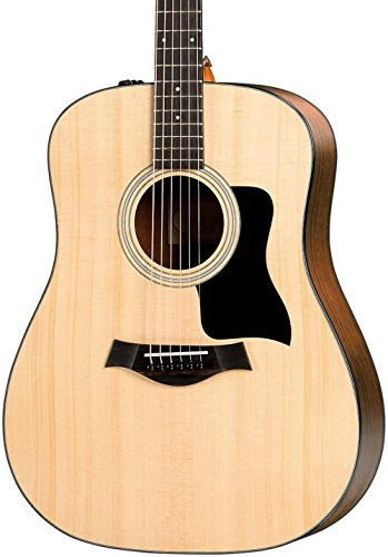 - Taylor 110e 100 Series Acoustic Guitar, Sapele, Dreadnought, ES-T