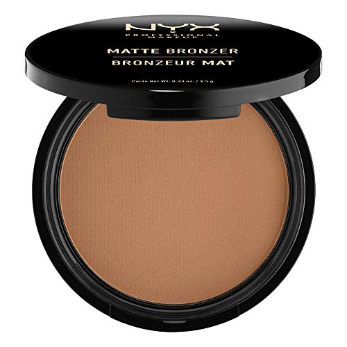 NYX PROFESSIONAL MAKEUP Matte Bronzer, Deep Tan, 0.33 Ounce