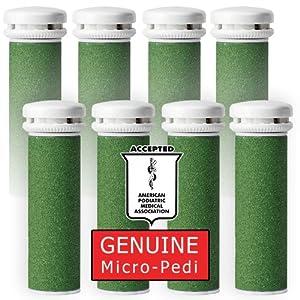 Emjoi Micro-Pedi Refill Rollers (Pack of 8, Xtreme Coarse)