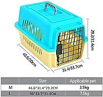 Casetas y Cajas para Perros Jaula para Mascotas Caja de Aire para ...