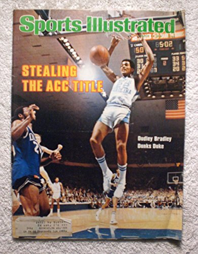 Dudley Bradley - North Carolina Tar Heels - Sports Illustrated - March 12, 1979 - College Basketball - (1979 College Basketball)