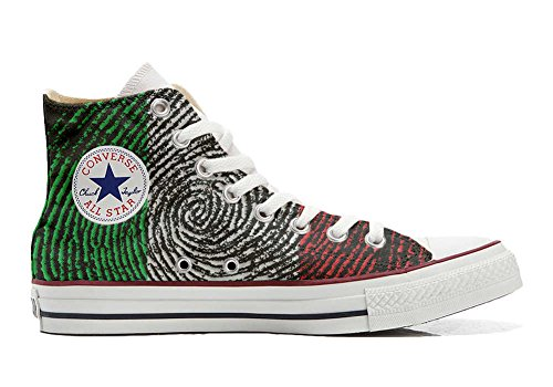 Converse All Star Customized - zapatos personalizados (Producto Artesano) la bandera americana (USA)
